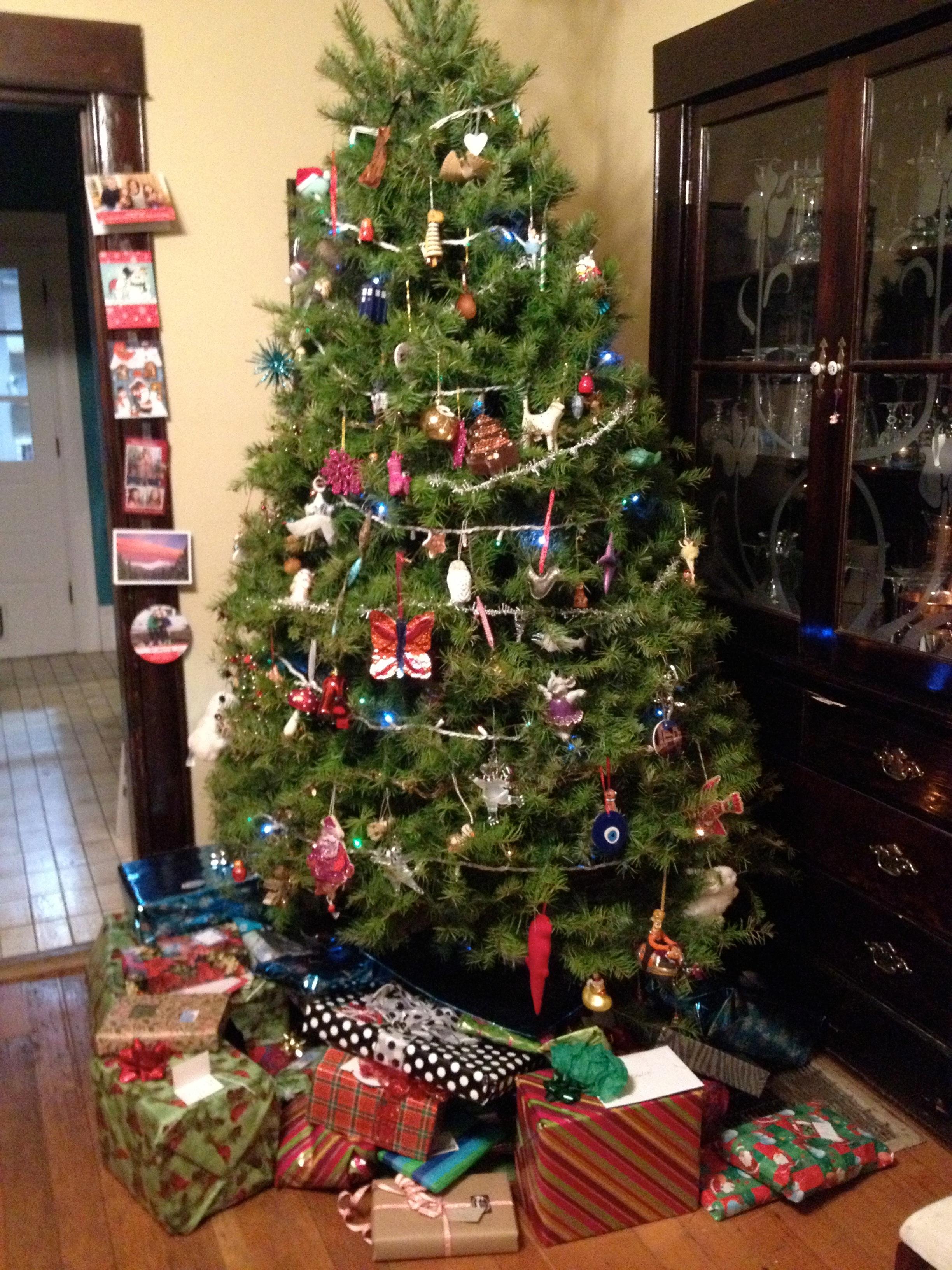Disney tree ornaments - Christmas Tree
