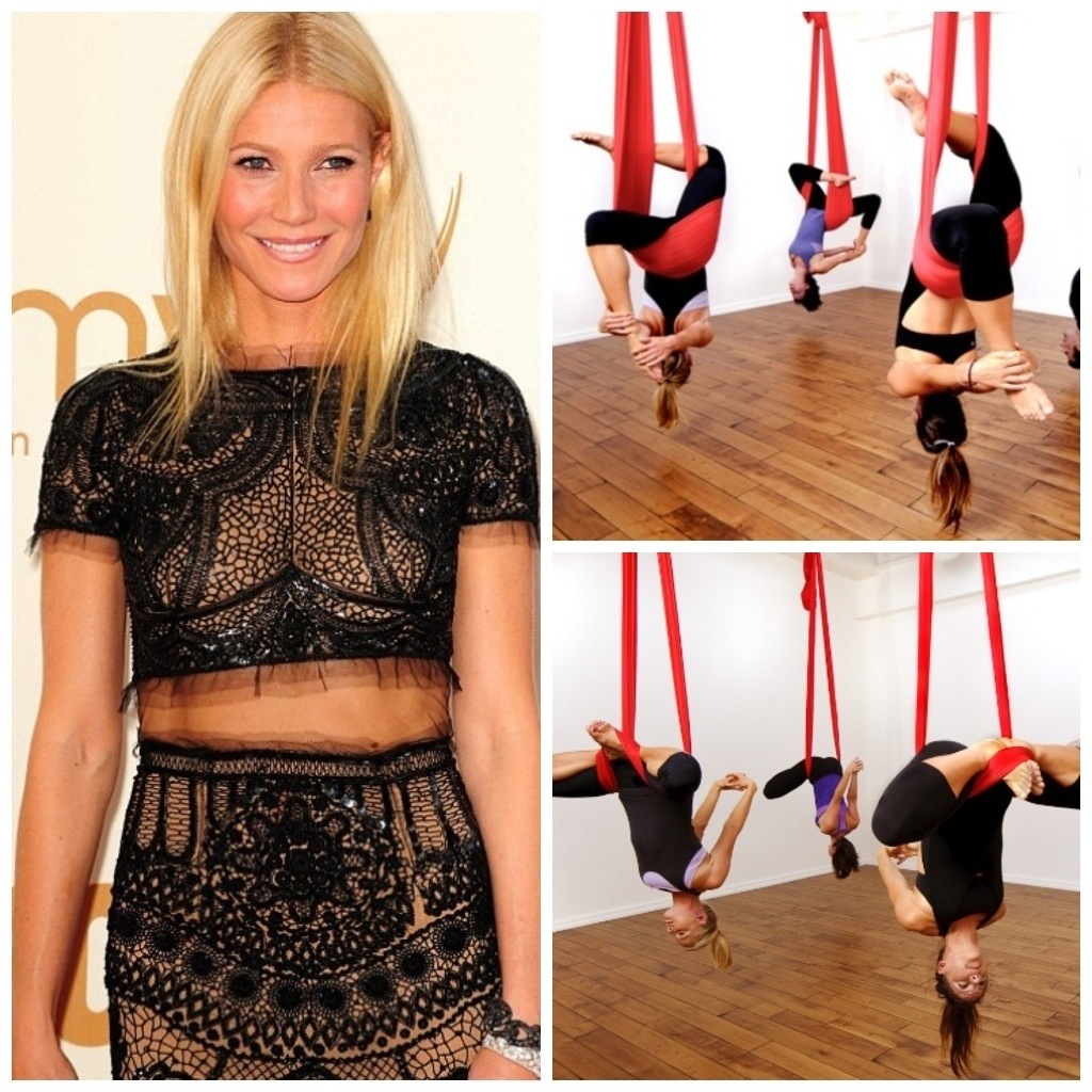 Gwyneth Paltrow Yoga Roseanne Barr | Slice ...