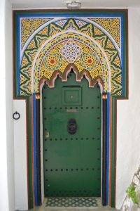 Morocco doorway