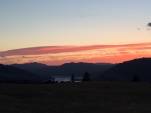 Mosier sunset